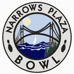 Narrows Plaza Bowl logo